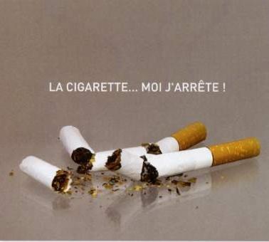 cigarette affiche arret